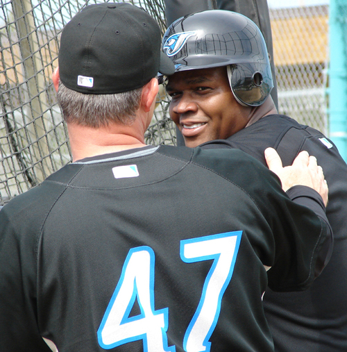 Frank Thomas saved the Blue Jays last year, right?