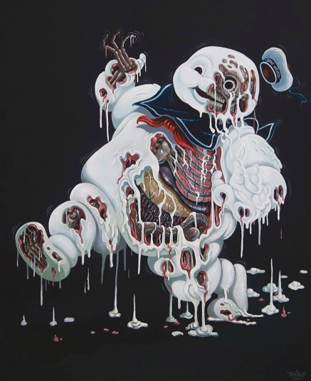 nychos-marshmallow-man-leaking-skin